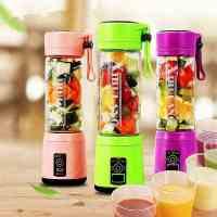 玻璃榨汁机电动榨汁杯充电迷你辅食搅拌机家用便携式小型果汁料理