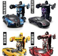汽车人模型小男孩数字黄蜂男生儿童变形机器人套天柱遥控变形三季